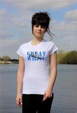 Great White Shark 'WHITEY' scuba diving 100% cotton T-shirt Ladies all sizes