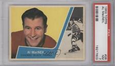 1963-64 Topps #28 Al MacNeil PSA 7 Chicago Blackhawks Hockey Card