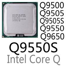 intel Xeon Q9500 Q9505 Q9505S Q9550 Q9550S Q9650 LGA775 CPU Processor