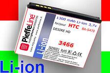 Batteria Li-ion 1300mAh per HTC DESIRE HD tipo BA S470