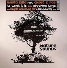 """Masta Killa It's What It Is 12"""" Vinyl Record non lp mixes! wu tang clan rap NEW!"""