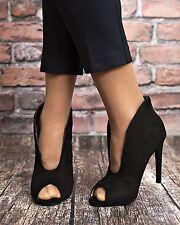 NEU Sandalen Stiefel Pumps High Heels Damenschuhe Ankle Boots WoW 35-40 grau