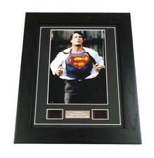 SUPERMAN CHRISTOPHER REEVE Signed PREPRINT + FILM CELLS MOVIE MEMORABILIA GIFTS