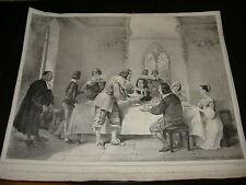 1800 LITOGRAFIA NAPOLI GATTI E DURA ALESSANDRO MANZONI I PROMESSI SPOSI