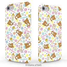 Genuine Rilakkuma Pattern Hard Case Galaxy S8 Case Galaxy S8 Plus Case 7 Types