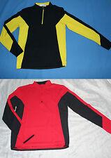 Fahrradshirt Sportshirt Langarm Schwarz oder Rot Gr 48-50 M Gr.52-54 L NEU