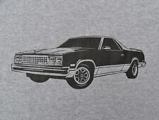 1986 EL CAMINO T-shirt, Conquista 1987 1984 1985 1983