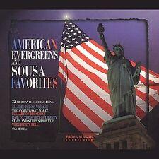 American Evergreens & Sousa Favorites 2 CD's  35 songs
