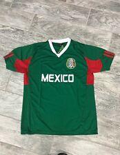 ef61c68db Mexico National Team Sports Jersey Patriotic Flag Shield Pride Baseball  soccer