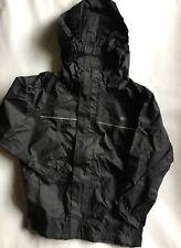 Boy or Girls Gelert Waterproof Rainpod Jacket in Black Colour