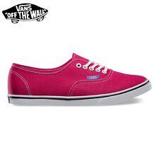 """zapatos VANS de mujer """"Authentic Lo Pro"""" Originales NUEVOS POP Rosas R/Púrpura"""