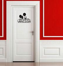 Sticker Vinilo - Disney - Personalizable - Pon tu nombre - Custom - Aufkleber