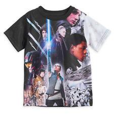 Disney Store Star Wars Last Jedi Sublimated Shirt Kids Size 2/3 4 5/6 7/8 10/12