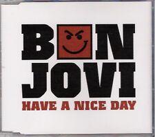 Bon Jovi - Have a Nice Day - UK promo 1 track CD