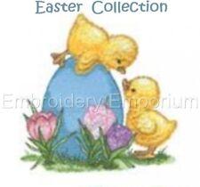 Colección de Pascua-diseños de bordado de la máquina en CD