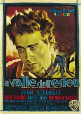 East of Eden James Dean vintage movie poster #6