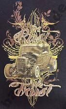 T-shirt #403 the Rust We Trust, Hot Rod DRAGSTER US-CARS CLASSIC-CAR AUTO D'EPOCA