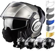 LS2 FF399 Valiant Single Mono Flip Front Motorcycle Helmet & Visor Motorbike ECE