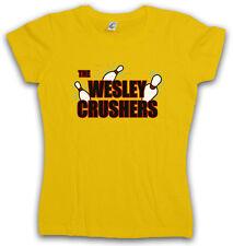 THE WESLEY CRUSHERS WOMAN T-SHIRT - Cooper Big Bowling Bang Sheldon Theory Nerd