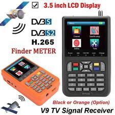 "Satellite Signal Finder Digital LCD Meter 3.5"" DVB-S/S2 H.265 FTA SAT PAL NTSC"