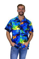 Funky Camisa Hawaiana Surf Azul