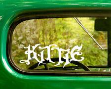 2 KITTIE BAND DECALs Sticker For Car Window Truck Bumper RV Laptop Jeep
