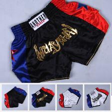 Anotherboxer Men Women Mma Muay Thai Boxing Shorts Printed Kickboxing Sportswear