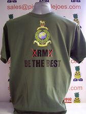 Royal Marines T-Shirt BE THE BEST new Royal Marines T-Shirt with logo