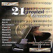 Twenty-One Greatest Classics (CD, Feb-1996, St. Clair) MOZART BACH CHOPIN GRIEG
