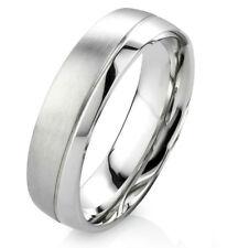 Verlobungsring Ehering Damenring Herrenring aus Edelstahl mit Ring Gravur E020
