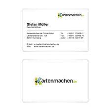 Visitenkarten individuell Business Karten 300g/qm 85 x 55 mm - Klassisch