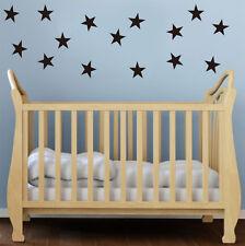 24 x STAR Adesivi Da Parete Bambini Vivaio kids Room Decalcomanie UK