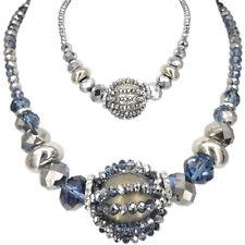 Fashion Ball Beads Pendant Necklace Costume Jewelry Handmade Bib Frontal Chunky