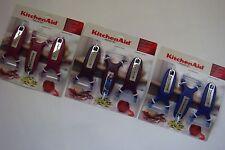 New KitchenAid Set of 3 Peelers * Raspberry Ice * Grape Purple * Plum