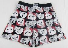 Mens Marvel Superhero The Punisher Red Black Logo Boxers Underwear Size S M L