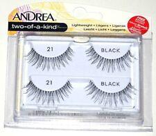 New Andrea Two Of A Kind False Lash Lightweight Eyelash 21 Black - 4 Or 10 Packs