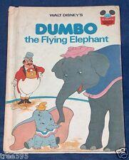 1978 1ST USA EDITION WALT DISNEY DUMBO THE FLYING ELEPHANT RANDOM HOUSE BOOK VG