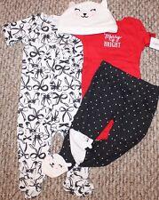 d3d415e19 Girls Carter's 4 pc Lot/Set/Outfit (Hat, Shirt, Pants,Sleeper) - Sz 3, 6 mo  -New! Girls Carter's 4 pc Lot/Set/Outfit (Hat, Shirt, Pants,Sleeper) - Sz  3, ...