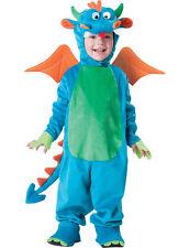 Kostüm Drache für Kinder bunt Cod.230967