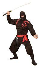 Costume Carnevale Uomo Super Ninja Muscoloso PS 26187