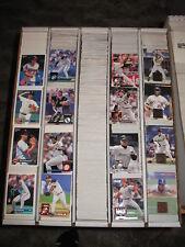 1994 Donruss Baseball Base SE & Inserts Large Lot  Approximately 1562 Cards
