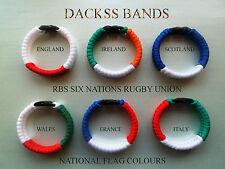 Rugby Union RBS Six Nations Team National Flag 550 Paracord Wristband Bracelet
