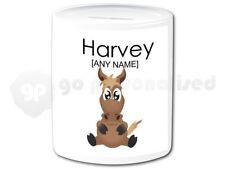 Personalised Ceramic Money Box- Horse Design #1
