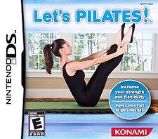 Let's Pilates!  (Nintendo DS, 2008) BRAND NEW!!