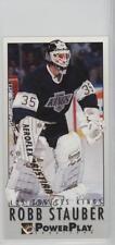 1993-94 Fleer Power Play #363 Robb Stauber Los Angeles Kings Hockey Card
