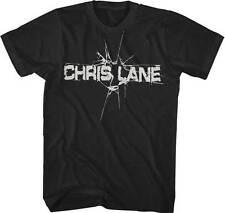 CHRIS LANE BAND - Logo - T SHIRT S-M-L-XL-2XL Brand New - Official T Shirt