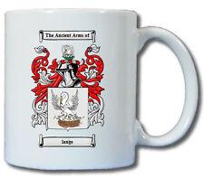 LANGE (GERMAN) COAT OF ARMS COFFEE MUG