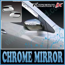 Chrome Side Mirror Cover LED For 10 11 12 13 Hyundai Tucson ix35