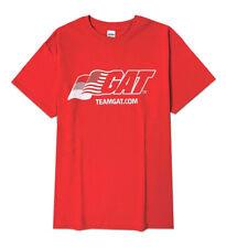 GAT Sports Team GAT T-Shirt / Tee Shirt Red Jetfuel Nitraflex  PMP - Medium Size