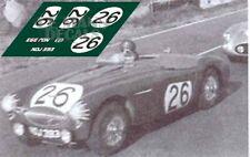 Calcas Austin Healey 100 S Le Mans 1955 26 1:32 1:43 1:24 1:18 decals